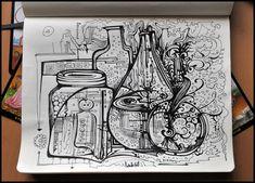 Sketchbook by Irina Vinnik