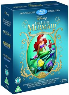 The Little Mermaid Trilogy UK I must have it