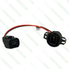 20pcs power cord wire harness for hella factory original d2s oem 20pcs h16 5202 2504 psx24w extension wiring harness female male sockets connector