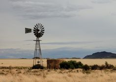 karoo rain - Google Search Old Windmills, Acrylic Painting Tutorials, Landscape Photos, Farm Life, Beautiful Landscapes, Wind Turbine, South Africa, Wall Art, Pictures