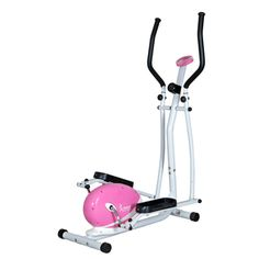 @Overstock - Add style to your daily low-impact workout with this pink magnetic elliptical machine from Sunny Health Fitness. This fun elliptical features 8-levels of tension and a multi-function meter to track time, speed, distance, caloric burn, and total distance.http://www.overstock.com/Sports-Toys/Sunny-Pink-Magnetic-Elliptical/7278770/product.html?CID=214117 $159.99