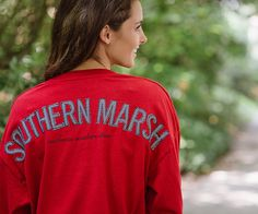 Rebecca Jersey (Crimson Red) (Large) – Southern Marsh call 850-837-5466 or go to sunsetshoesonline.net