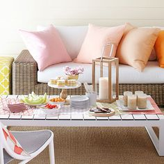 No-Fuss Summer Party Ideas | via BHG.com