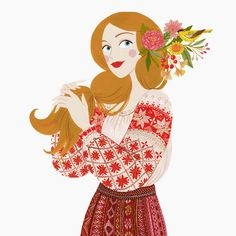 Fashion Illustration Vintage, Creative Illustration, Cute Illustration, Character Illustration, Cool Art Drawings, Cartoon Drawings, Painting For Kids, Illustrations, Traditional Art