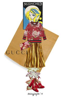 gucci by daizyjayne on Polyvore featuring polyvore, fashion, style, Gucci, Olympia Le-Tan, Sferra and gucci