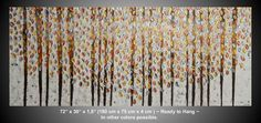Large Painting on Canvas Art Paintings Acrylic von acrylkreativ