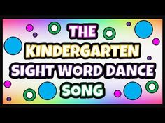 Sight word dance song for kindergarteners to implement Kindergarten Songs, Kindergarten Lesson Plans, Kindergarten Reading, Teaching Reading, Kindergarten Sight Words, Brain Breaks For Kindergarten, Kindergarten Preparation, Learning, Kindergarten Language Arts