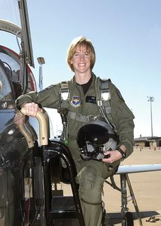 Major Olivia Elliott, a former T-38 instructor, now a 303rd Fighter Squadron A-10 Thunderbolt II pilot, has been accepted to Test Pilot School where she will learn to fly more than 20 different aircraft. TPS, she said, is a step toward her ultimate goal - becoming an astronaut. (Courtesy photo))