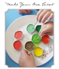 make your own watercolor