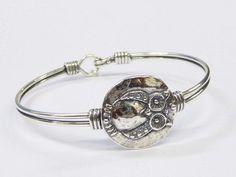 Sterling silver cuff bracelet for women, bracelet with an owl , Bluenoemi Jewelry Bracelets Sterling silver . Silver Bracelets For Women, Mens Silver Necklace, Sterling Silver Cuff Bracelet, Engraved Necklace, Silver Necklaces, Silver Earrings, Owl Bracelet, Jewelry Bracelets, Jewellery