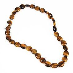 "15/"" Strand HONEY TIGER EYE 15mm Coin Beads"