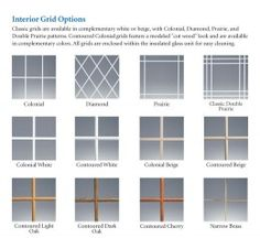 Window Frame For Stain Glass With Muntins On Pinterest