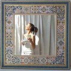 Да, идеальные понедельники бывают)) утро без суеты, легкость без лишних слов) #релаксфм А зеркало готово и сегодня отправится к себе домой.