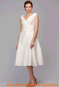 Preiswertes Brautjungernkleid aus Taft A-Linie