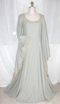 Medieval Wedding Galadriel dress http://www.carpatina.com/WomenWeddingDress.html