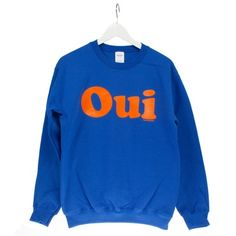 OUI Sweater #sweater #pullover #oui #lagarconne #mode #switzerland onyva.ch Hey You, Graphic Sweatshirt, Pullover, Sweatshirts, Switzerland, Sweaters, Orange, Fashion, Moda