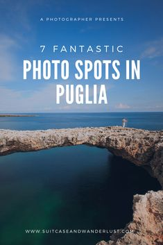 7 fantastic photo spots in Puglia, Italy. Discover these great photography locations in the South of Italy Travel Destinations Beach, Italy Travel Tips, New Travel, Amazing Destinations, Places To Travel, Travel Europe, Things To Do In Italy, Puglia Italy, Visit Italy