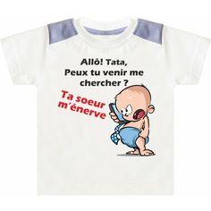 t shirt personnalisé enfant allo tata Point creation