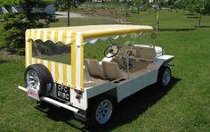 Unmutual Vehicle Guide - Mini Moke (McGoohan/Portmeirion)
