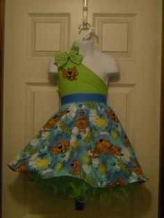 Scooby Doo Petticoat Pageant OOC Casual by PrettyInPinkDresses, $40.00