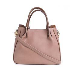 CARBOTTI 1343 - woman leather handbag amande - http://carbotti.it/en/product/carbotti-1343-woman-leather-handbag-amande/