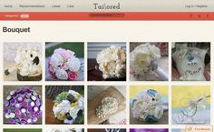 Tailored, a Pinterest for weddings.