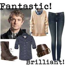 """Dr. John Watson"" by k-strautz on Polyvore"