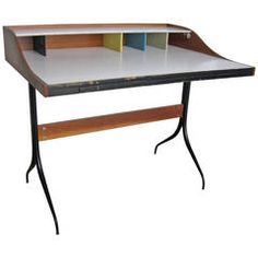 George Nelson Swaged-Leg desk