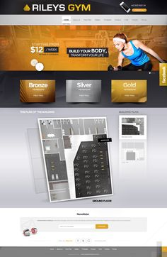 RILEYS GYM - website design Agency: Creativehead.info, Artist: Hubert Paderski (webdesigner1921) Facebook profile: www.facebook.com/creativehead.info    Date realization work: 2014 -------------------------------- It is prohibited to copy or use in any form this project. Design protected by copyright. It is prohibited to copy pages, graphic,  components and code.