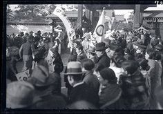 1935. Japanese occupied Manchuria. Celebration of the 30th Anniversary of the Russo-Japanese War | Digital Scholarship Services