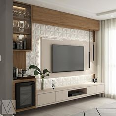 36 Amazing TV Wall Design Ideas For Living Room Decor - homepiez room tv. - 36 Amazing TV Wall Design Ideas For Living Room Decor – homepiez room tv wall modern tv u - Interior Design Living Room, Living Room Decor, Living Rooms, Paint Colors For Living Room, Modern Interior, Modern Tv Wall Units, Modern Wall, Living Room Tv Unit Designs, Tv Wall Unit Designs