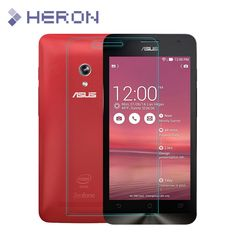 0.3mm Super Thin Tempered Glass Film for Asus Zenfone 5 2 3 Max 4 6 GO Laser with 0.2mm Round Border with Clean Tools