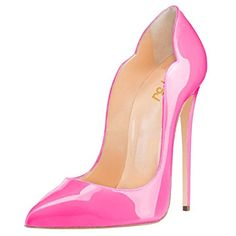 Evening Shoes for Women Pointed Toe Stiletto High heels Sexy Hot Pink