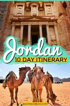 10 Days in Jordan: The Perfect Itinerary & Travel Guide. An awesome 10 days in Jordan guide A perfect itinerary including Petra Wadi Rum Jerash Amman and more plus how to get about and where to eat & sleep. Travel Tips Travel Hacks packing tour Middle East Destinations, Amazing Destinations, Travel Destinations, Africa Destinations, Travel Guides, Travel Tips, Travel Hacks, Travel Info, Travel Packing