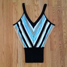 I just discovered this while shopping on Poshmark: Arden B striped top. Check it out!  Size: S