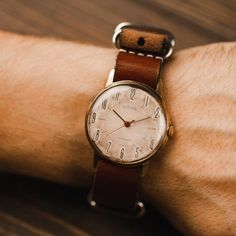 Rare vintage Soviet mechanical watch WOSTOK. Men watch | Etsy Retro Watches, Vintage Watches, Watches For Men, Nato Strap, Mechanical Watch, Watch Case, Watch Brands, Moscow, Clocks