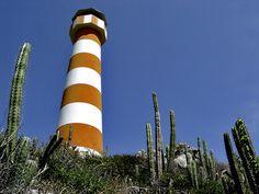 Isla Chimana Segunda lighthouse. Puerto La Cruz, Venezuela