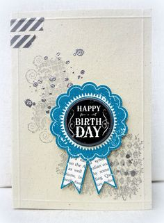 White House Stamping: Pacific Blue Birthday...
