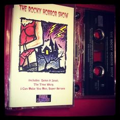 #Rockyhorrorshow 1996 #kasetti #tape #Halloween  goes on and on and on