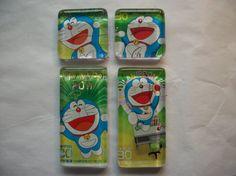 4 Doraemon Commemorative Postage Stamp Philanippon by BadCatCraft