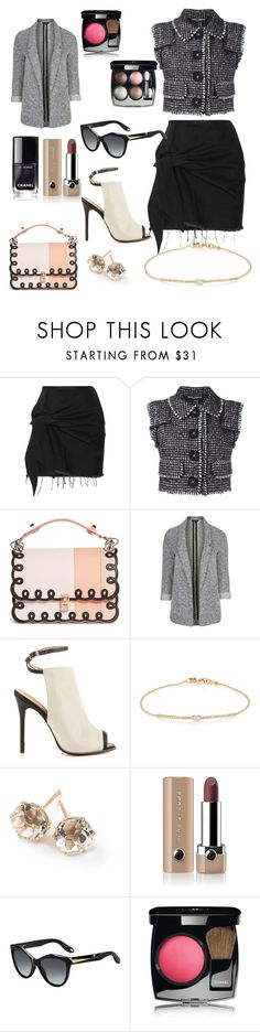 """Holly Go Hard in the Paint"" by giannilachica ❤ liked on Polyvore featuring Marques'Almeida, Dolce&Gabbana, Fendi, Topshop, L.A.M.B., Tate, Ippolita, Marc Jacobs, Givenchy and Chanel"