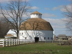 The Round Barn near Lima, Ohio, is a round barn that was built in 1911. It was listed on the National Register of Historic Places in 1980. It may have been known also as Isaac Rozell Round Barn, the builder