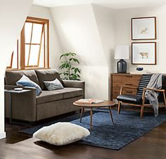 Our Allston Day & Night Sleeper Sofa is the perfect solution for hosting guests in a small space.