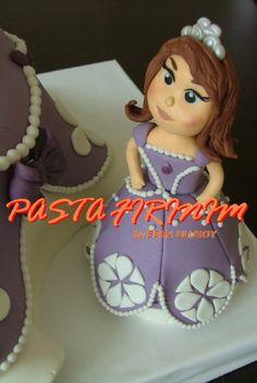 PRENSES SOFYA PASTA at PASTA FIRINIM Pasta Kurabiye ve Şeker Hamuru Çalışmaları