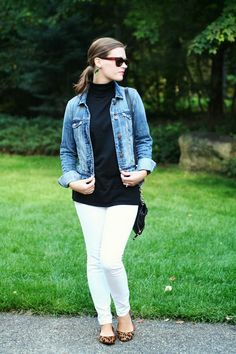 my everyday style: black and white!