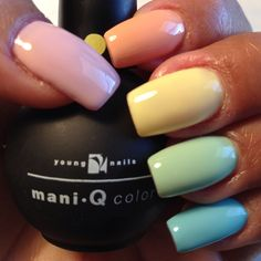 New YN Mani-q Spring Collection!  Nails By Paulette Schaeffer