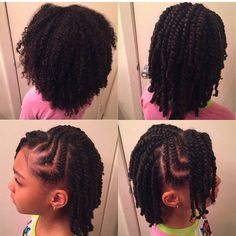 Twist Hairstyles For Kids Natural Black Twisted Hairstyles Girl Kids  And Beyond Easter