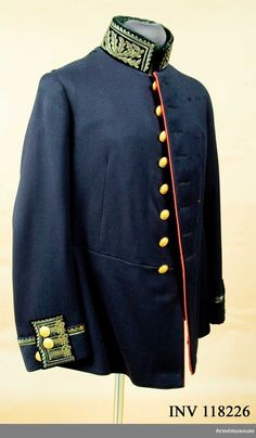 Tunic m/1845 for General Surgeon.