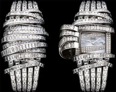 Piaget time piece baguettes pavè nacre tapes secret |Pinned from PinTo for iPad|