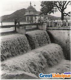 fateh sagar water fall 1972
